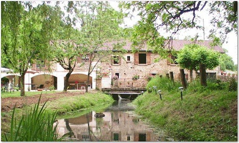 Studio indépendant dans moulin à eau - Sainte-Alvère - Guesthouse