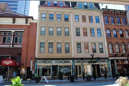 Huge Luxury Loft Central Downtown! - Cincinnati - Appartement