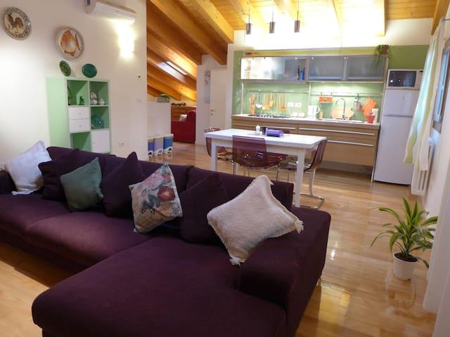Luce e colori nella casa che ride - Padova - Apartment