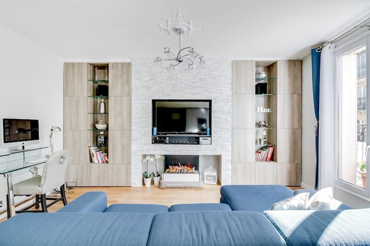 Luxury 2Bedrooms/ 2Baths apartment Champs Elysées