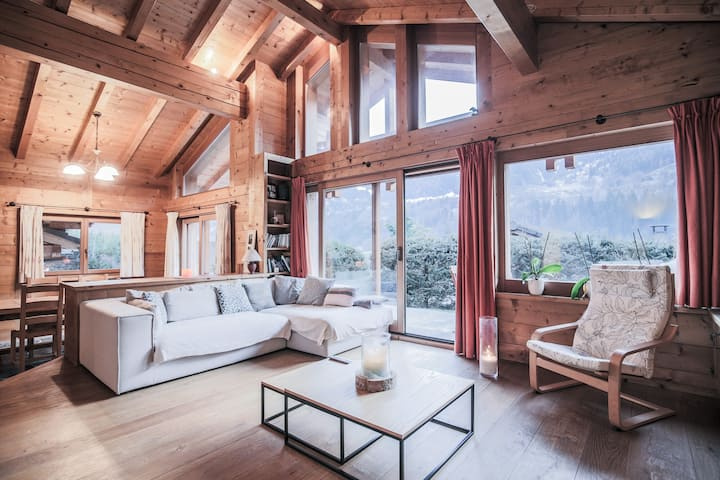 Amazing and cosy chalet in a quiet area