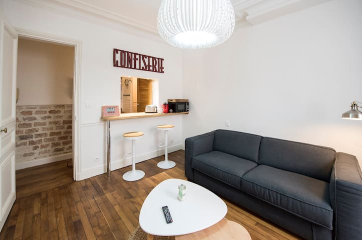 Lovely apartment in the 17th  - Batignolles