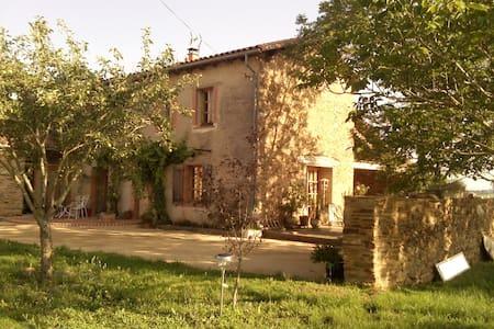 Chambres et espaces à la campagne - VILLEFRANCHE D'ALBI - Dom