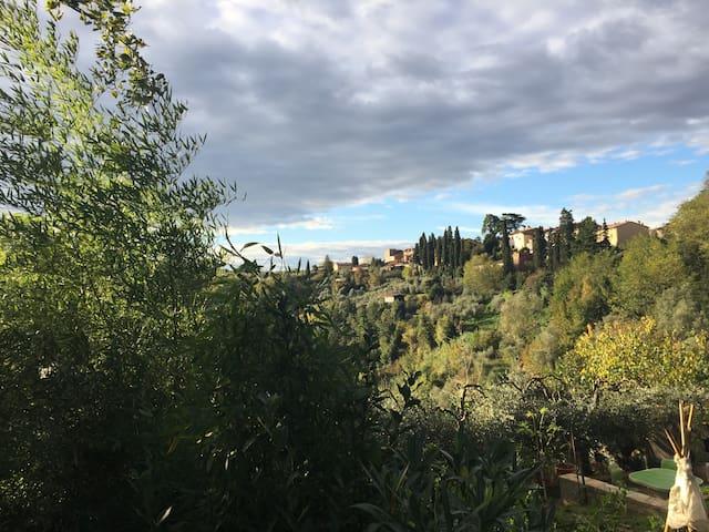 Toscana: a Montopoli Val d'Arno - San Miniato
