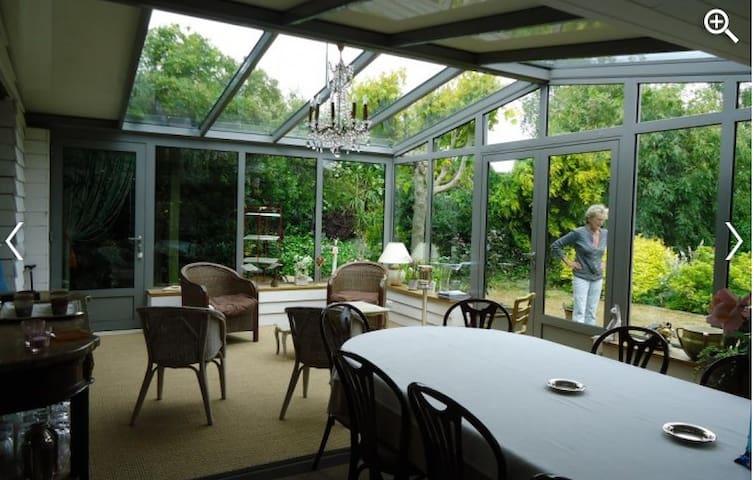 Chambres d hôtes Le Petit Ardrier - Martigné-sur-Mayenne - เกสต์เฮาส์