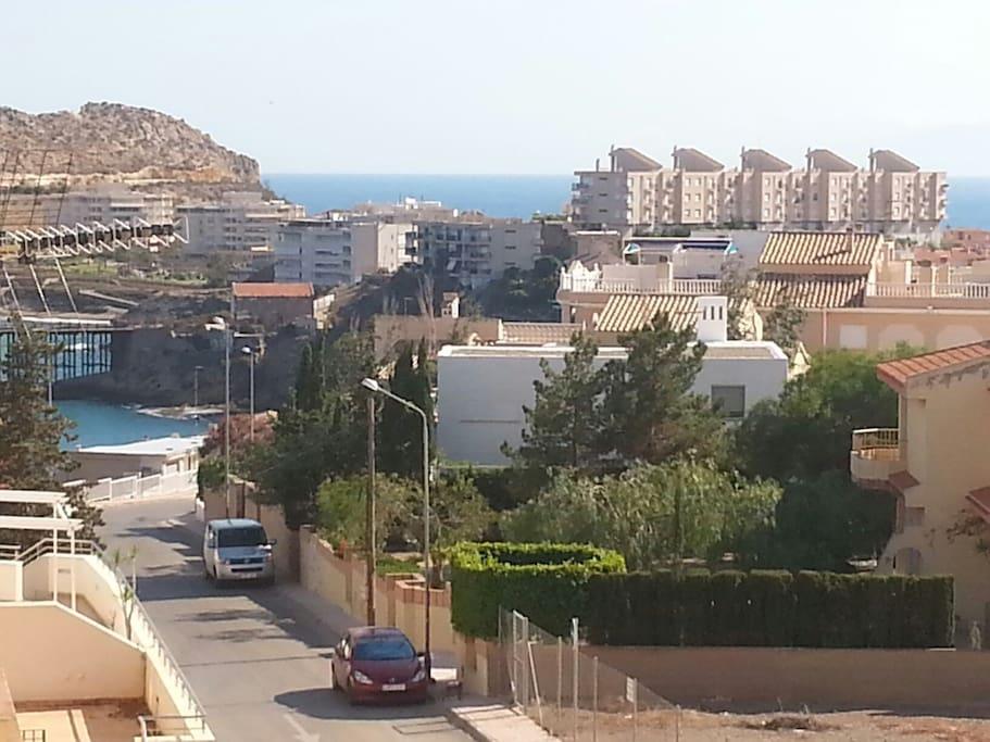Casa con vista al mar y jardin casas en alquiler en for Casa jardin murcia