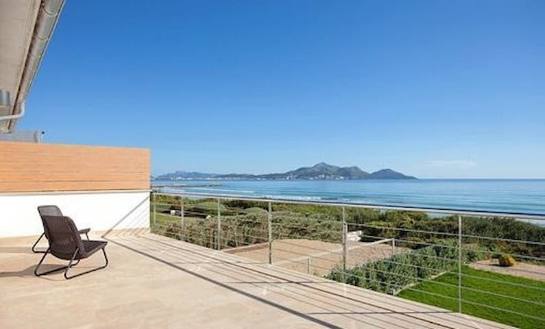 M4R Great Waterfront House - Playa de Muro