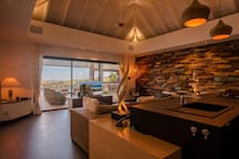 Beautiful Covered Terrace and Heated Infinity Pool, Views of Island Activities, Outdoor Speakers