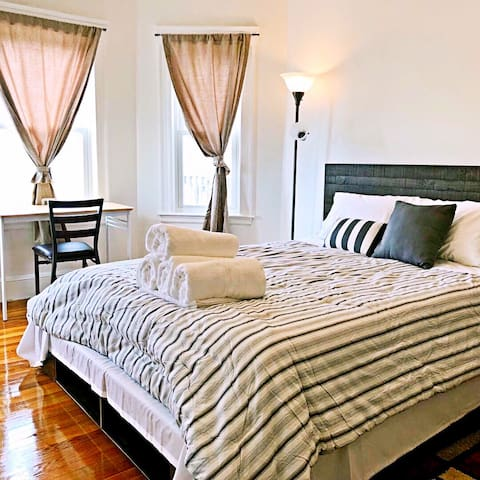 Near subway redline—-luxury stay bedroom (#4)