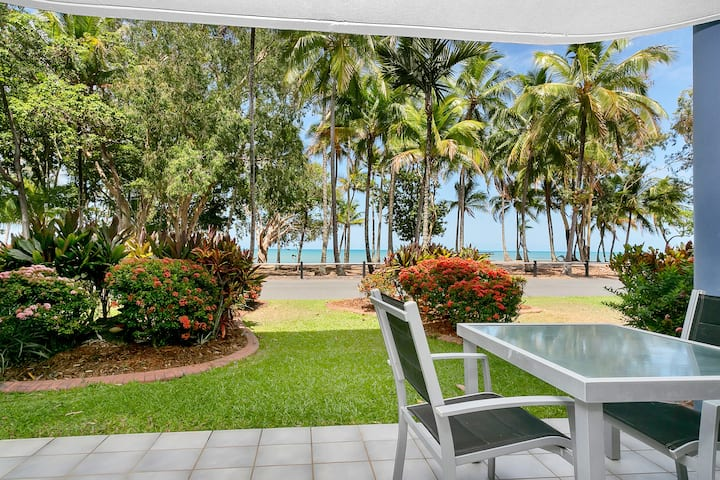 Two-Bedroom Apartment Right In Front Of The Beach!
