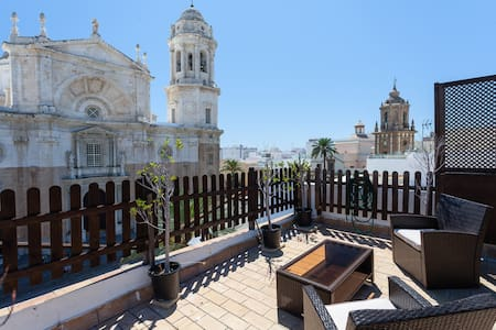 Cathedral ☼ Penthouse w/ 2 terraces - Cádiz - Apartment