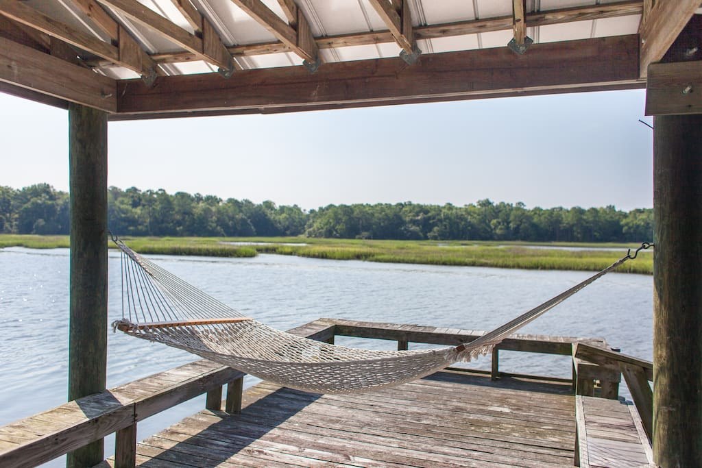 Spend a lazy afternoon on the dock.