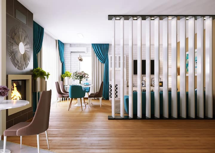 Great penthouse in North Bucharest
