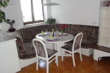 Schöne Wohnung, ruhige Lage für 4 Personen - Oberdrauburg - Appartamento