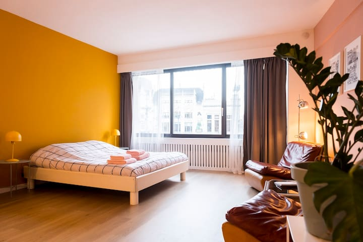 Cosy studio right next to Antwerp Central Station