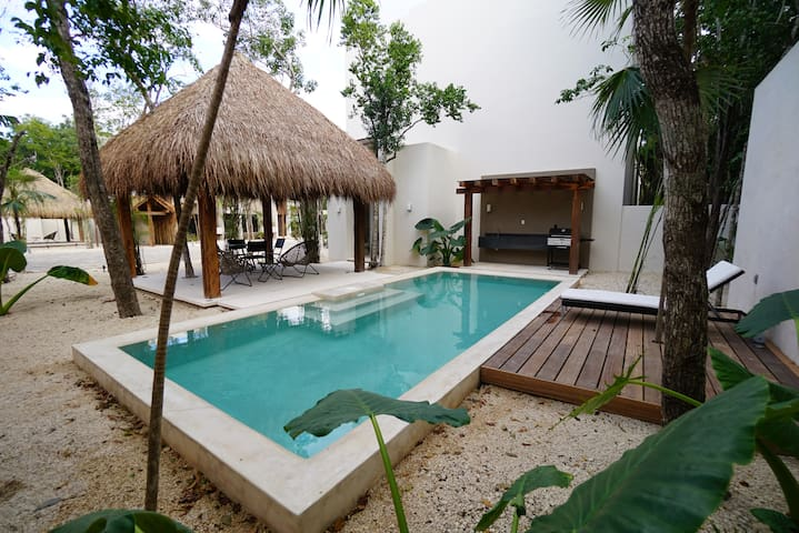 Tulum Villa- 3floors Terrace Pool