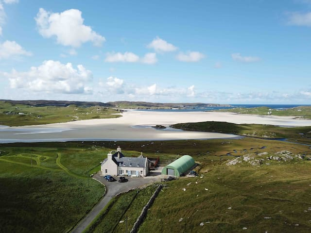 Double room, Keeper's House, Uig beach