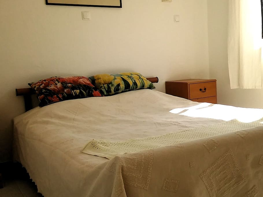 3. Comfortable bed for two