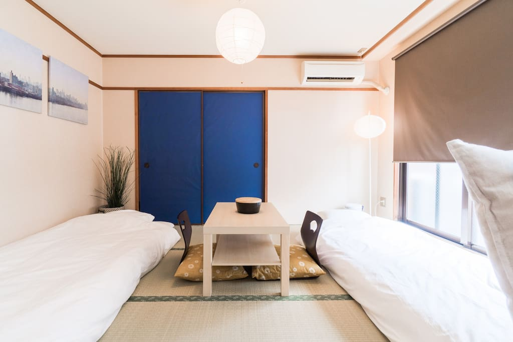 bed room on Tatami