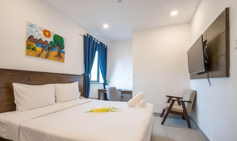 50%dis★COZY ROOM★FREE PICKUP★STEP TO BEACH★CENTER