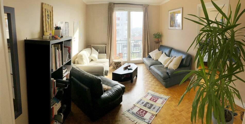 chambre privée dans une colocation vu magnifique