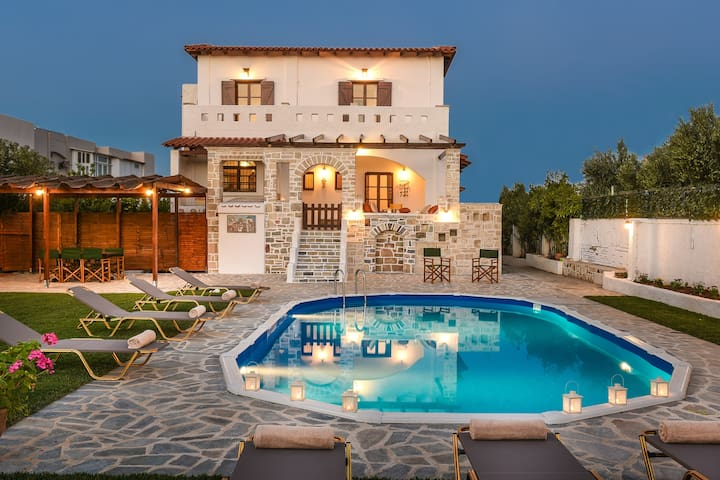 Mosaic Villa - Rethymno - Villa