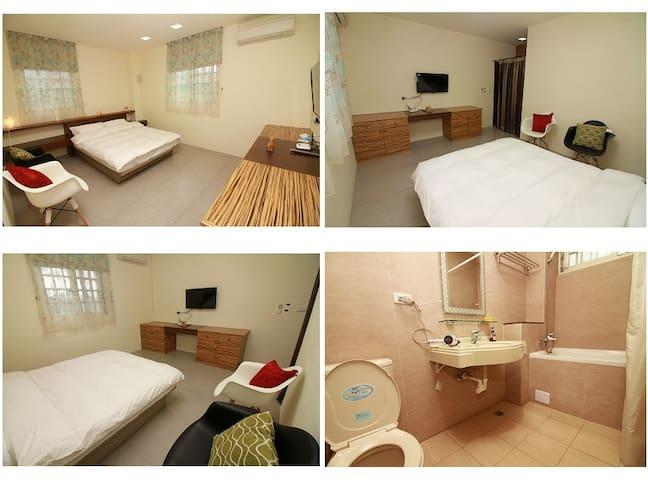 193樂奇民宿-2樓202雙人套房 - Guangfu Township - Guesthouse