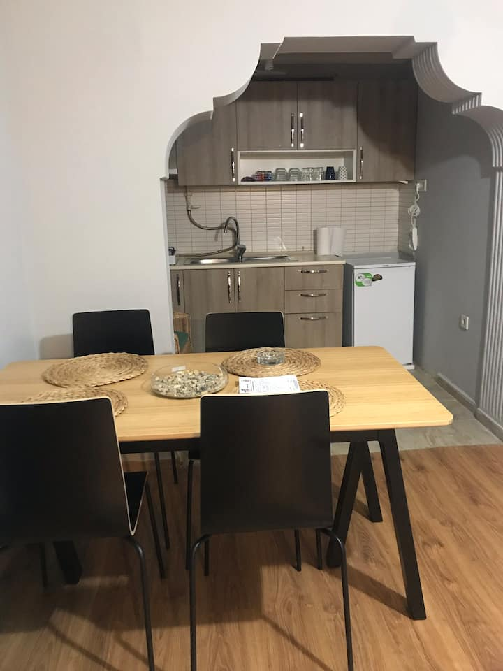 a cute apartment two minutes from taksim square