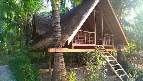Kokosų medžio namelis Udalo Mindoro