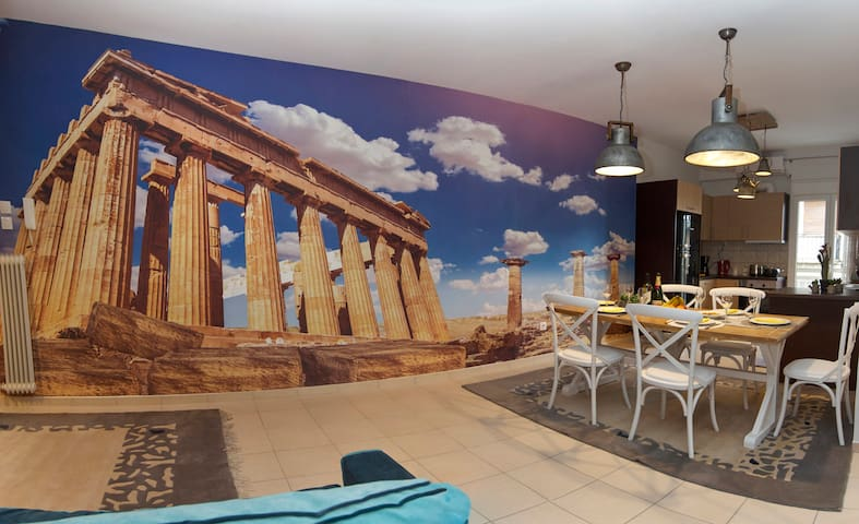 JUST ATHENS apt 130sqm one step from metro