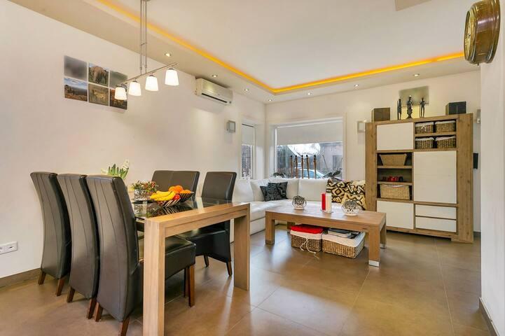 Moderne woning in rustige omgeving
