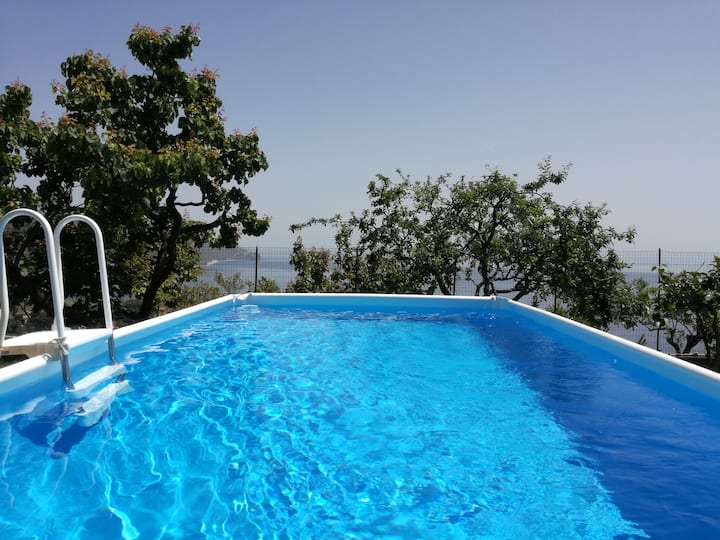 Villa Mariella in Taormina with pool and garden