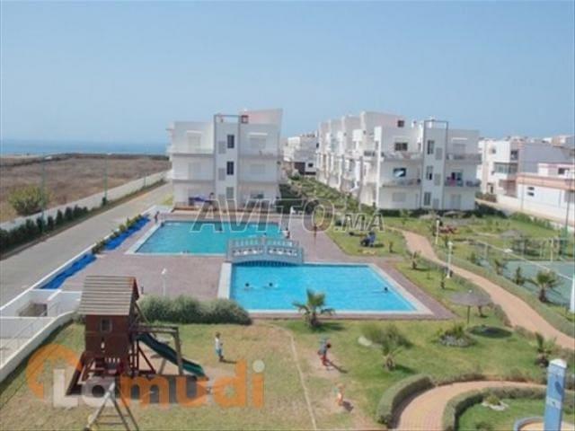 Appart dans résidence balneaire - El Mansouria - Apartment