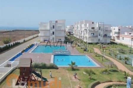 Appart dans résidence balneaire - El Mansouria