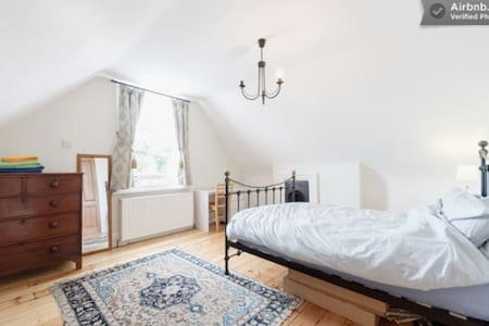 Private top floor ensuite + parking