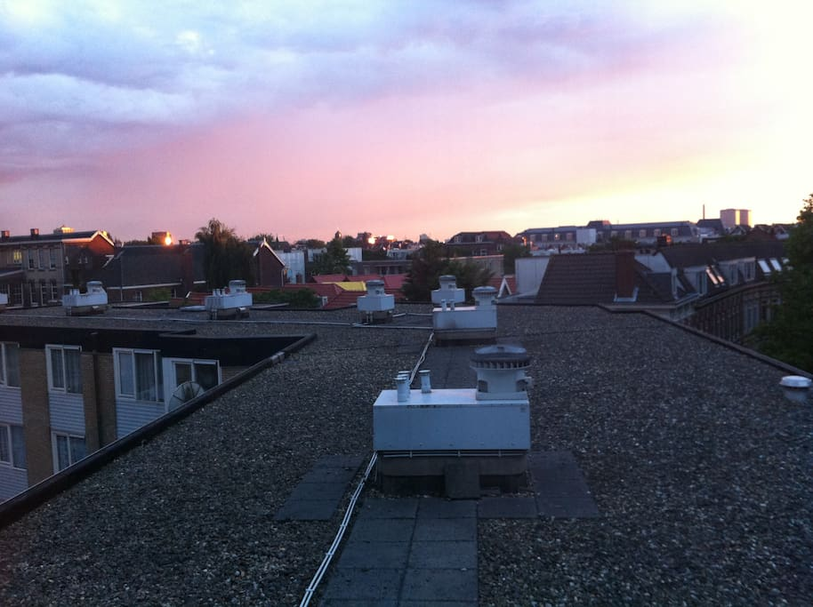 360 view from the roof