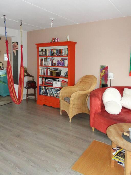 Livingroom incl. hammock