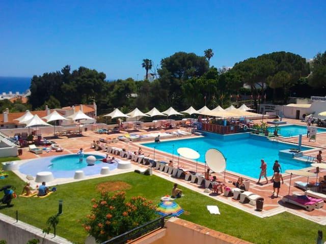 Estúdio c/ piscina e junto à praia - Albufeira - Dom