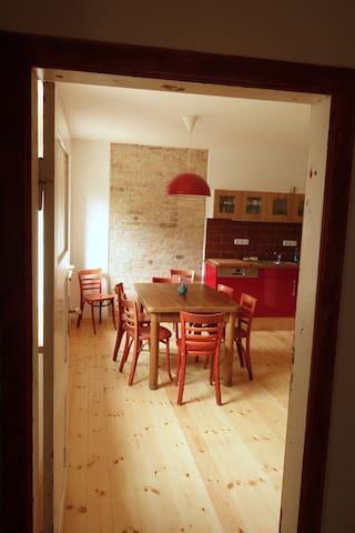 Altes Bauernhaus im Naturschutzgebiet - Märkische Höhe - Casa