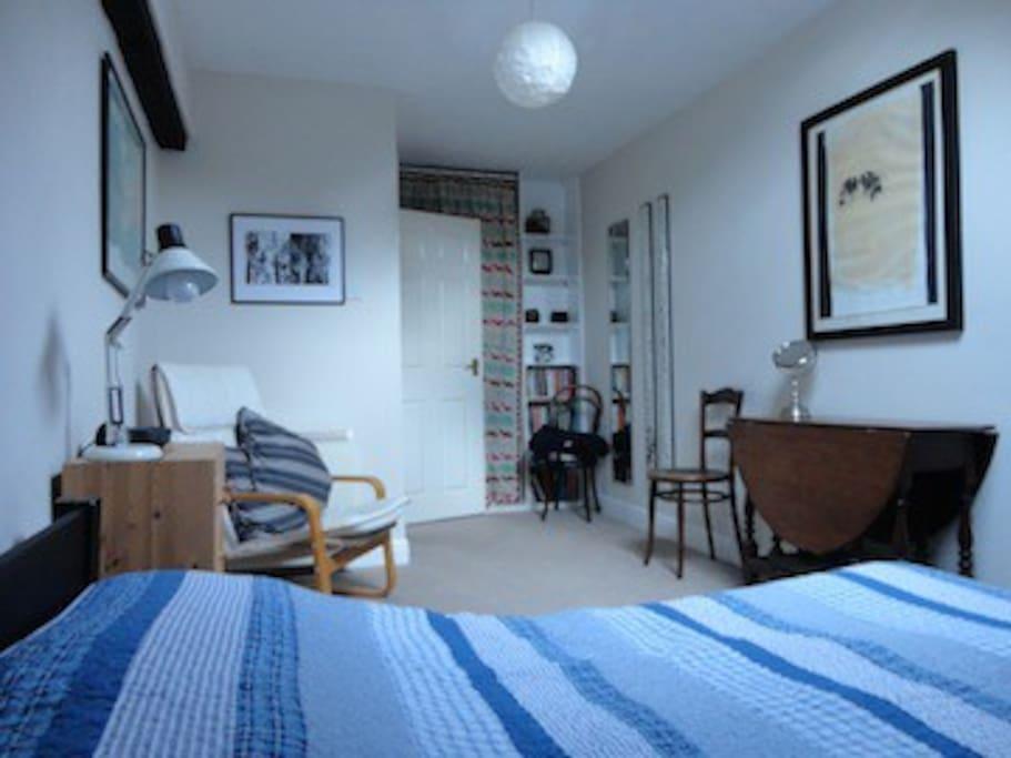 Plenty of space in the bedroom too.