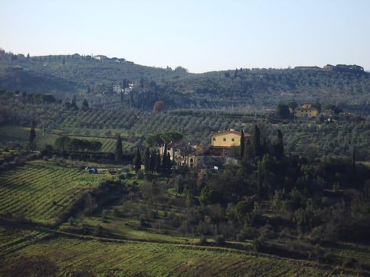 Tuscan hilltop paradise - l'acetaia