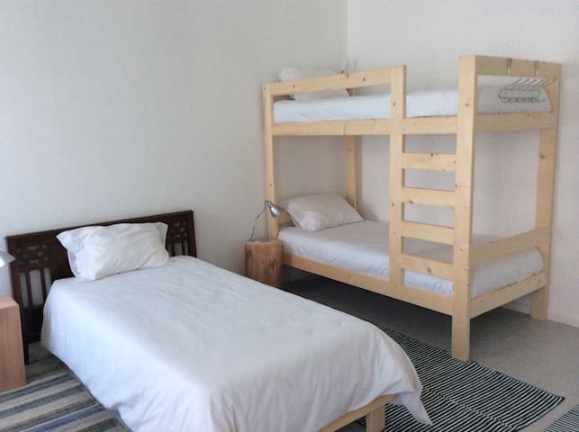 Shared bed room for 3 person