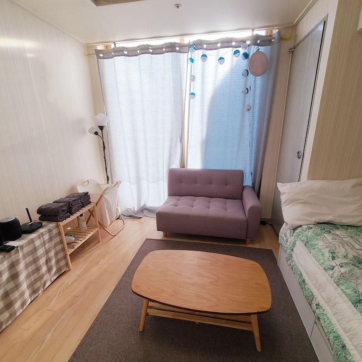 [Sol's Cozy Home] 강남역 5분거리 햇살가득 조용한 낭만 숙소