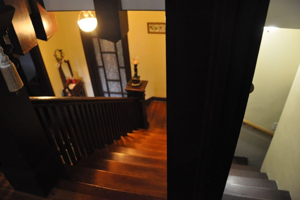 View of stairwell