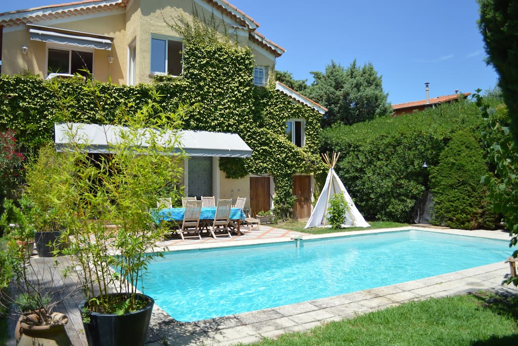 maison nice piscine priv e jardin houses for rent in