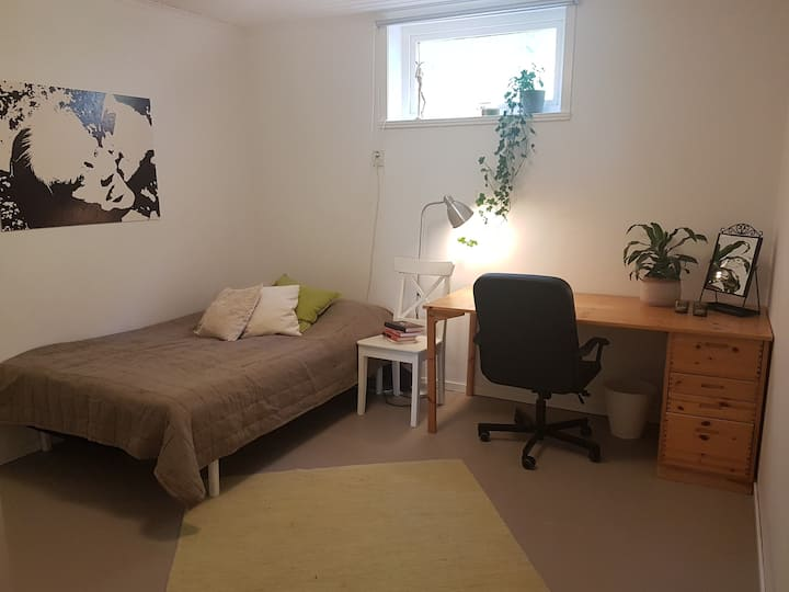 Cosy apartment close to nature and city centre.