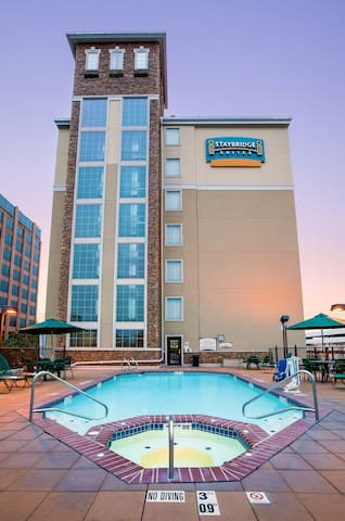 15 Minutes from the Riverwalk! | Outdoor Pool, Hot Tub, and Free Breakfast!