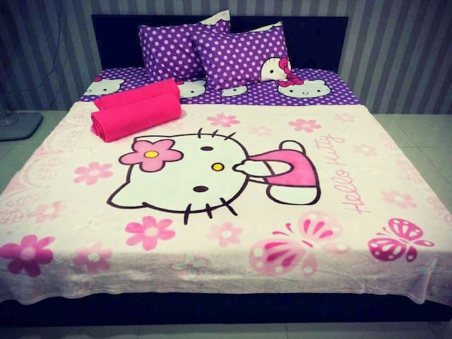 Kampar West City Homestay - Hello Kitty themed - Kampar - Apartment