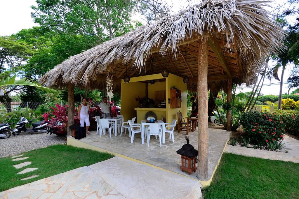 Natura village bungalow apartments for rent in sosua - Bagno punta canna sottomarina ...
