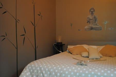 ch  entrée indép: 7 mn à pied cité - Carcassonne - Bed & Breakfast